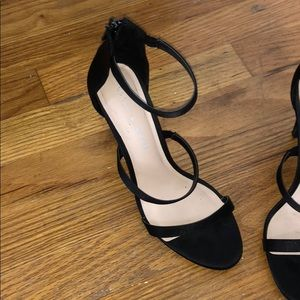 black Kelly & Katie heels. Only wore once!